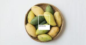 ความสุกของมะม่วง: เทียบสีความสุกของมะม่วงน้ำดอกไม้