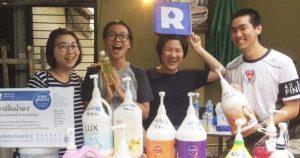Refill Station 'ปั๊มน้ำยา' แห่งแรกของไทยที่พกขวดไปเติมเองได้!