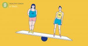 ลดน้ำหนัก กับ ลดความอ้วน ต่างกันยังไง