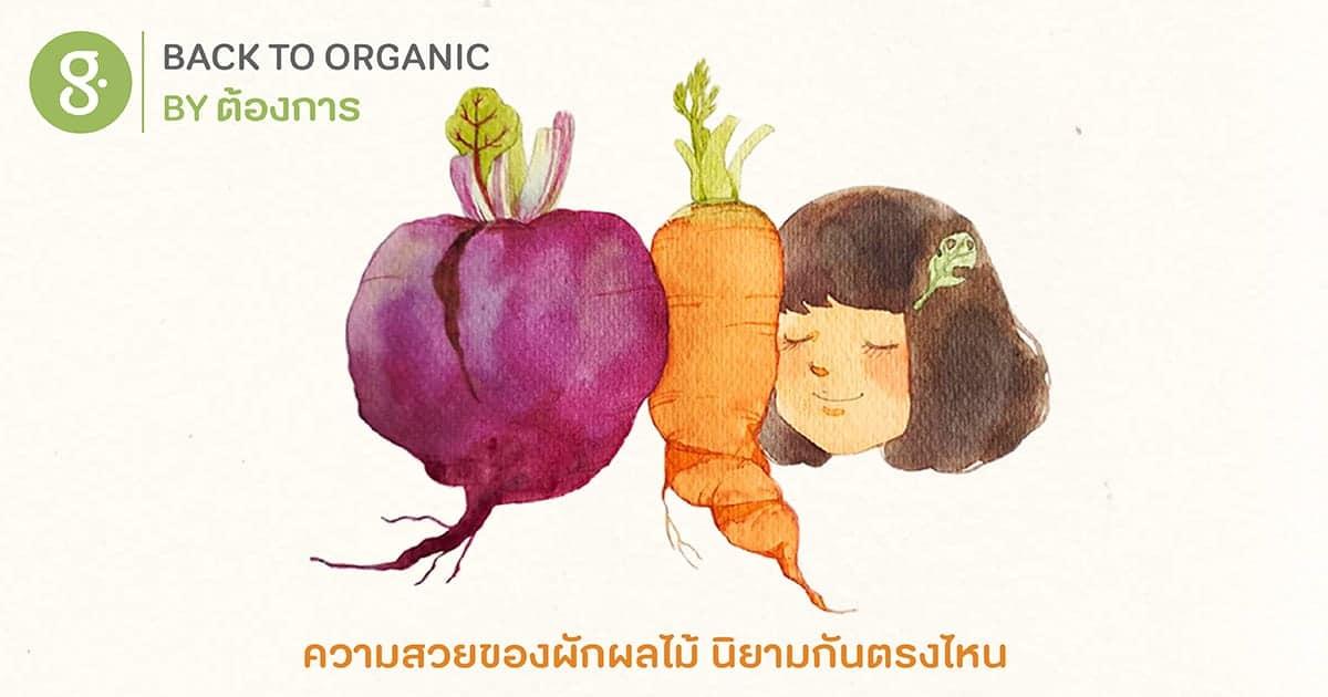 ความสวยของผักผลไม้ นิยามกันตรงไหน