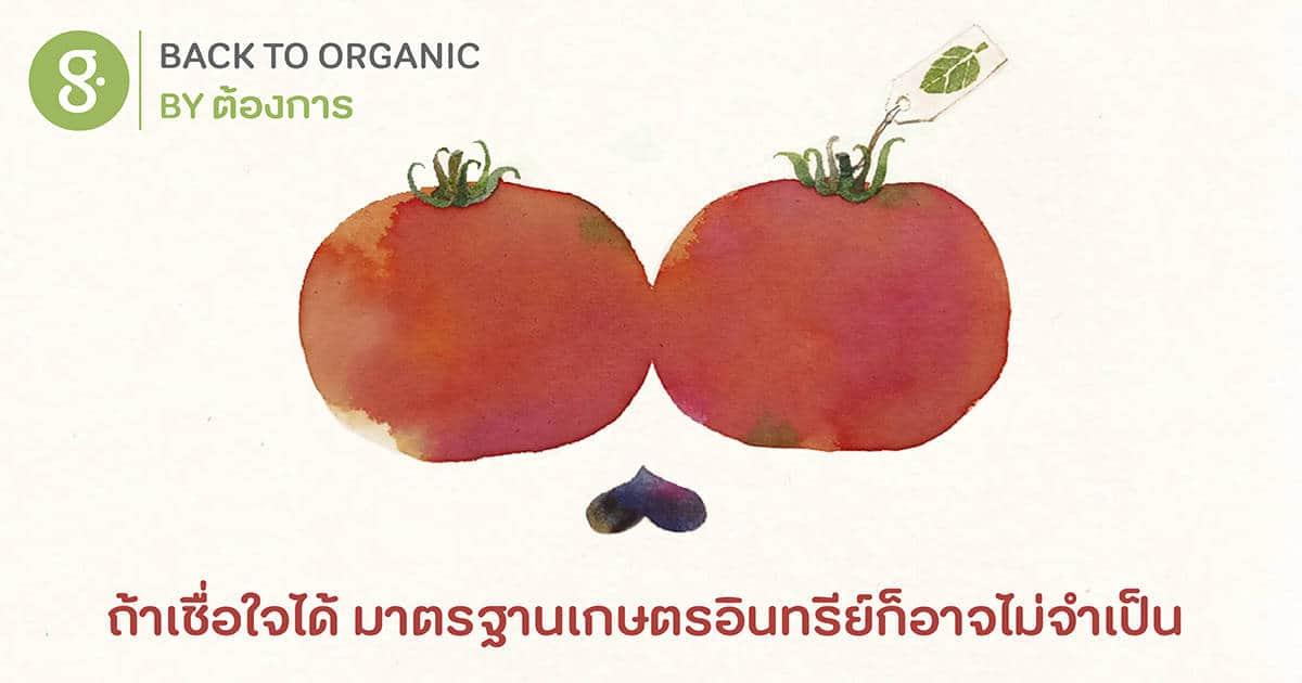 ถ้าเชื่อใจได้ มาตรฐานเกษตรอินทรีย์ก็อาจไม่จำเป็น